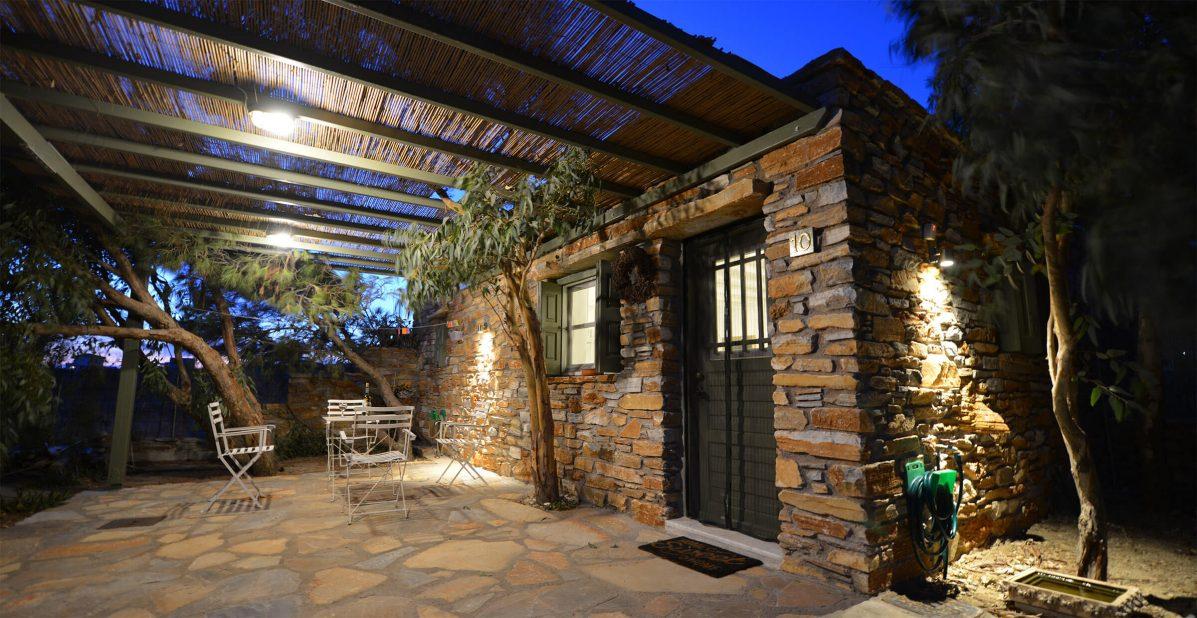 family stone houses Tinos